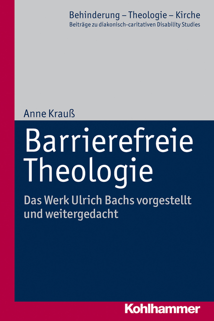 Cover Barrierefreie Theologie