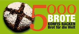Logo der Aktion 5000 Brote